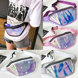 $enCountryForm.capitalKeyWord Australia - 2019 New Woman Reflective Fanny Waist Packs Lady Young People One Strap Pack Bag Purse Running Nylon Pocket Pouch