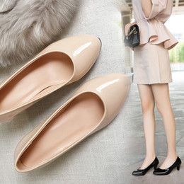 ae6ee64e5 2019 Dress HENGSONG Fashion Nude hallow Mouth Sexy Fashion Women Shoes  Office High Heels Casual Shoes for Elegant Ladies Female RD913388
