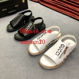 $enCountryForm.capitalKeyWord Australia - Hot women men rubber Soft Sandals Comfortable Roman off Small white summer wading shoes high quality breathable platform shoes yz-y2