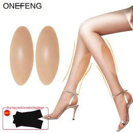 2019 Vendita calda Silicone Intarsi per gambe Bellezza del corpo Soft Pad Correzione del tipo di gamba Nasconde le debolezze Vendita diretta in fabbrica in Offerta