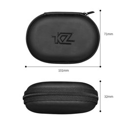 kz headphones NZ - 2019 1pcs New KZ Headphone Bag Portable Headphone Storage Box For KZ Headphones Dropship #0611