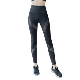 ebcb3a119a01d Legging Sport Femme Fitness High Waist Yoga Pants Stretchy Seamless Tights  Running Sports Workout Scrunch Butt Trouser