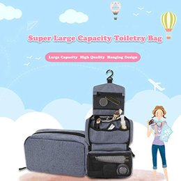Cloth Cubes Australia - Fashion High Quality Oxford Cloth Mesh Women Make Up Cosmetic Bag Luggage Organizer Packing Cube Organizer Travel Bags Handbag