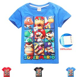 $enCountryForm.capitalKeyWord Australia - DGFSTM brand Summer new Korean version tide men half sleeve Super Mary short sleeve T-shirt casual t-shirt for foreign trade children C23