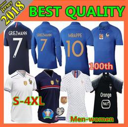 165f96b8c61 4xl Soccer Jerseys Canada - 2 stars 2019 Mbappe Soccer jerseys men women  2019 2020 World