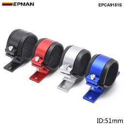 PumP clamP online shopping - EPMAN Car quot mm ID Aluminium Bracket Clamp Cradle Holder For Fuel Pump Fuel Filter EPCA9151S
