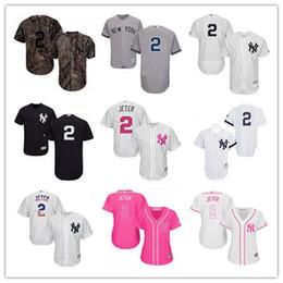 62b806ac560 custom New York Men Women Youth Yankees 2 Derek Jeter