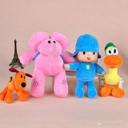 $enCountryForm.capitalKeyWord Australia - Pocoyo Soft Plush Toys 15-30CM 4PCS set Figure Doll Yoyo Pato Loula Dolls Classic Baby Kids Soft Cuddly Toys for Boys and Girls