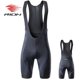 Wholesale Rion High Quality Classic Bib Shorts Race Bicycle Bottom Ropa Ciclismo Bike Pants r Gel Pad Silicon Grippers At Leg Bib Shorts