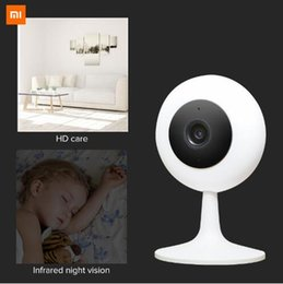 Cctv Wifi Ip Australia - Xiaomi Mijia Xiaobai Smart Camera Popular Version 720P HD Wireless Wifi Infrared Night Vision 100.4 Degree IP Home Cam CCTV