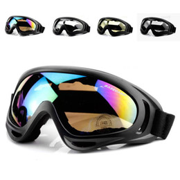 ski glasses cycling goggles NZ - Cycling Eyewear Snowboard Goggles Bicycle Ski Goggle Bike Eyewear Windproof Skiing Riding Outdoor MTB Road Bike Motorcycle Glass