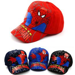 e66e035c1a2a45 2019 batman Kids cap Hiphop Baseball Caps For Children Flat Anime Hat Boy  Girls cartoon Hats summer outdoor fashion caps 50 to 54cm G145