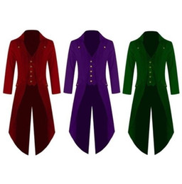 $enCountryForm.capitalKeyWord UK - Latest Coat Pant Design Red Green Purple Velvet Men Suit Groom Tailcoat Blazer Slim Fit Tuxedo Custom Wedding Suits Ternos