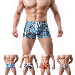 b4783201c72 Hot Sexy Summer Swimwear Men Drawstring Swimsuit Boys Briefs Beach Swim  Suits Boxer Shorts Swim Trunks Swimming Surf Short Pants
