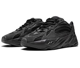 Großhandel Mens Frauen Kanye West Real Boost 700 Mauve EE9614 Designer Schuhe Mode Luxus Retro Trainer neue authentische Vintage Frauen Männer Mann Turnschuhe