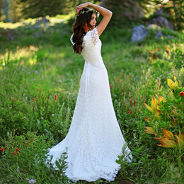 $enCountryForm.capitalKeyWord Australia - Vintage A Line Bridal Gowns with Short Sleeve Lace Wedding Dress Order Modest Western Country Style Wedding Gowns Plus Size