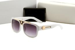 Clear Resin Coating Australia - style italy brand medusa sunglasses half frame women men brand designer uv protection 2097 clear lens and coating lens sunwear 426 4104 4301