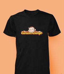 Top carToon games online shopping - Curious George t shirt cartoon game youtube monkey kids men women top New T Shirts Funny Tops Tee New Unisex Funny Tops