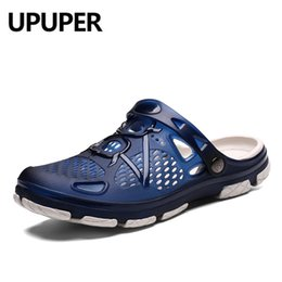 $enCountryForm.capitalKeyWord Australia - UPUPER Summer Men Slippers Fashion Beach Sandals Shoes Men Outdoor Breathable Flip Flops Casual Play Water Summer Shoes