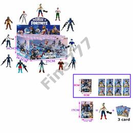 Skeleton figureS online shopping - Fortnite Doll toys with card New kids cm Cartoon game fortnite llama skeleton role Figure Toy lol