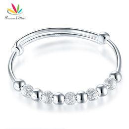 $enCountryForm.capitalKeyWord Australia - Solid 999 Silver Bangle Bracelet Baby Gift Adjustable Size CFB8001 Dropshipping Service Available