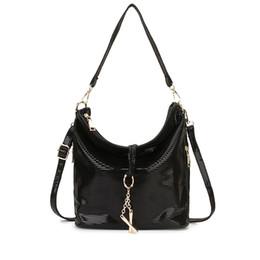 $enCountryForm.capitalKeyWord NZ - Black Women Leather Handbag Hobo Messenger Bag for Women 2019 Gold Crossbody Shoulder Bag Female Small Ladies Hand Summer