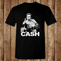 90d1ddce32378 JOHNNY CASH Flipping Bird Finger Size S-5XL T-shirt