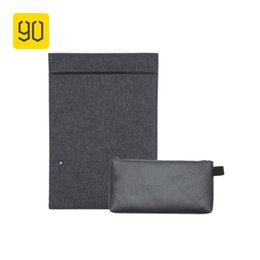 Water Tablets UK - XIAOMI 90FUN City Concise Series Laptop Briefcase Accessory Holder for 13inch Tablet Business Water Resistant Sleeve Men #30528