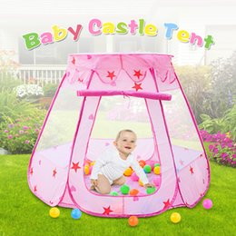 $enCountryForm.capitalKeyWord Australia - Baby Playpens Safety Inhouse Babies Tent Ventilative Summer Game House With Net Design Baby Indoor Playground Outdoor Play Tent