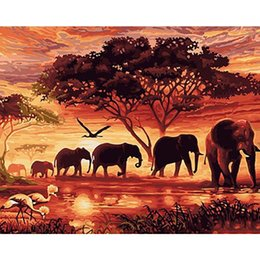 $enCountryForm.capitalKeyWord Australia - Full Square 5d Diy Diamond Painting Landscape Diamond Painting Elephant Animal Diamond Embroidery Tree Sunset Art Home Decor Z30