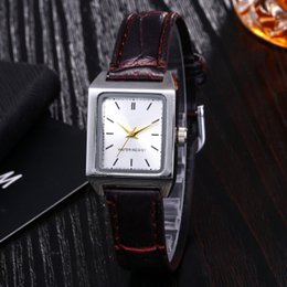 Black Korean Style Glasses Australia - Hot style watch web celebrity shake sound with a small square trend women's watch quartz watch Korean version of women's belt