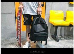 $enCountryForm.capitalKeyWord Australia - 2019 new tide brand backpack bag men and women fashion trend waterproof nylon travel bag Korean student bag