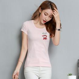 $enCountryForm.capitalKeyWord Australia - T Shirt Women New t-shirts women 2018 vogue Vintage tshirts cotton women O Neck Short Sleeve KN06 T5190603