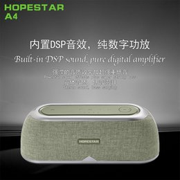 Ac Audio Australia - HOPESTARA-A4 wireless Bluetooth speaker new foreign trade creative gift card plastic AC pure digital power amplifier DPS sound effects touch