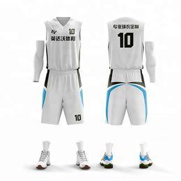 $enCountryForm.capitalKeyWord NZ - Women Sleeveless Basketball Jerseys Sets Team Sport Kit Clothing Uniforms Training Breathable Shirts Customized Printing