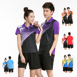 Sportswear T Shirt Badminton Australia - K5 Butterfly Badminton Suit Sportswear for Men & Women Short Sleeve T-shirt Leisure Running Basketball casual wear Table tennis B-5033