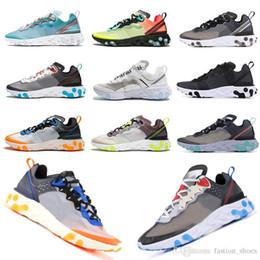 $enCountryForm.capitalKeyWord Australia - React 87 Element 87 Running Shoes For Men Women Designer Sneakers Sail White Full Black Top Quality Desert Sand Royal Tint Racer Trainers