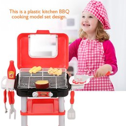 kitchen role Australia - Kids Kitchen Set Children BBQ Grill Cooking Toys Set Barbecue Playing Pretend Role Play Toy Children Girls Games
