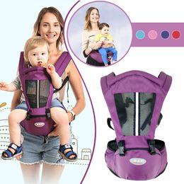 Hipseat Carrier Infant NZ - Newborn Carrier Kangaroo Toddler Sling Wrap Portable Infant Hipseat Baby Care Waist Stool Adjustable Hip Seat 0-36 Months Q190529