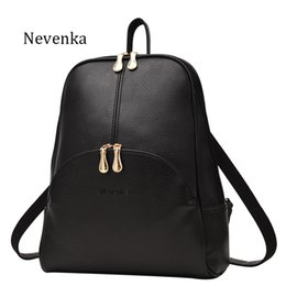 $enCountryForm.capitalKeyWord NZ - Women Backpack Leather Backpacks Softback Bags Brand Name Bag Preppy Style Bag Casual Backpacks Teenagers Backpack Sac