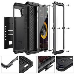 $enCountryForm.capitalKeyWord Australia - IP68 Waterproof Hybrid Tough Heavy Metal Shockproof Armor Case For iPhone XS X 10 8 7 6 6S Plus 5 5S SE Protective Cover + Glass