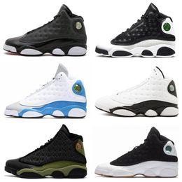 on sale 9044a 34d7b Chris Paul Basketball Shoes Australia - 13 13s Quality Mens Kids Retro  Basketball Shoes Bred Black