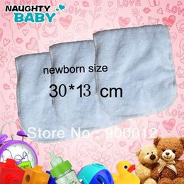 Free diapers online shopping - Promotion off Newborn Baby Inserts Reusable Cloth Diapers Inserts layers of microfiber cm Cheapest Insert