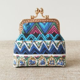 chinese ladies handbags NZ - Chinese style handmade vintage bag handbag special banquet lady bag antique ink style clasp small square