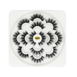 $enCountryForm.capitalKeyWord NZ - 2019 New 7pair set Lotus 5D False Eyelashes 3.5cm Natural Long Thick Soft Fake EyeLash Extensions Flair Black Color Eyelashes In Stock