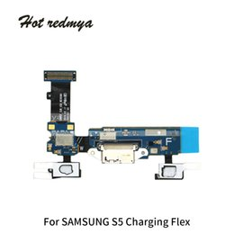 $enCountryForm.capitalKeyWord NZ - Test Passed Charging Charger Dock Flex Cable For Samsung Galaxy S5 G900H G900F G900D USB Charger Flex Cable Connector Repair Parts