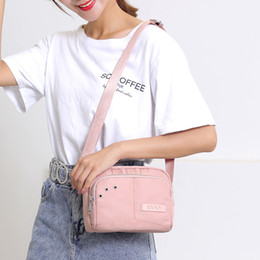 $enCountryForm.capitalKeyWord Australia - 2019 Bolsos Mujer Bolsas Feminina Luxury Handbags Women Bags Designer Bag Leisure Nylon Single Shoulder Factory Direct Sale