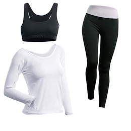 a00f62d9984df Major Fitness Equipment Yoga Outfits Long Sleeves Sport Suit Women Soft  Solid Color Beginner Outdoors Athletic Wear New Arrival 34cs1H1