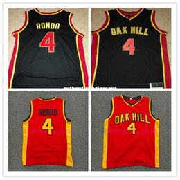 throwback high school basketball jerseys 2019 - Cheap Rajon RONDO JERSEY,#4 Rajon Rondo Oak Hill High School Throwbacks Basketball Jerseys, Men's Double Stitched R