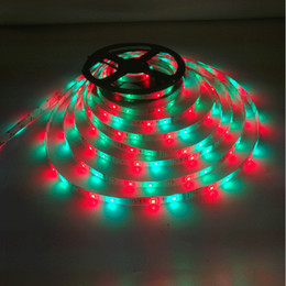 roll white neon lights 2019 - 200m 5m roll Rgb Garden String Strip Lights For Cars 12v Dc Light Waterproof 300 Red Smd 3528 Led Diode Ribbon Tape Neon